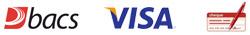 Bacs, Visa & Cheques